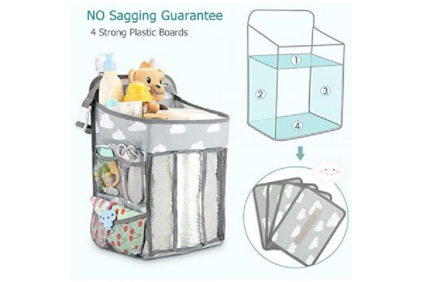 Hanging Diaper Caddy Organizer For